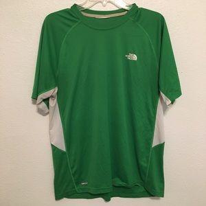 The North Face | Men's Green VaporWick Shirt